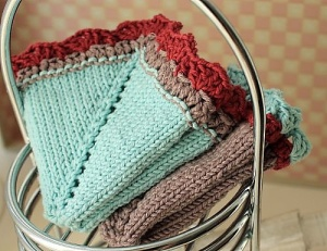 Vintage Hanky Washcloth