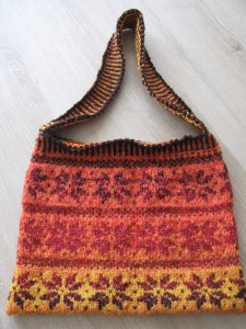 handknit bag