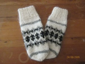 traditional icelandic mitts